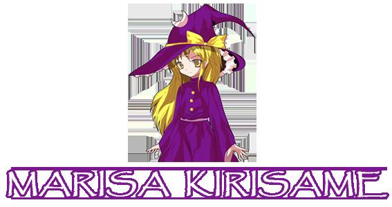 Touhou 3 : Phantasmagoria of Dimensional Dream Touhou3-MarisaKirisame